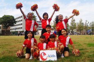 e-kids NFL cheerleaders