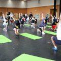町田総合高校ダンス部  体幹トレーニング 開催