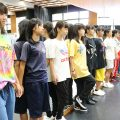 相模原総合高校ダンス部  体幹トレーニング 開催