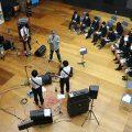 武蔵丘高校 バンドワークショップ開催