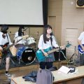 相模原総合高校 バンドクリニック開催